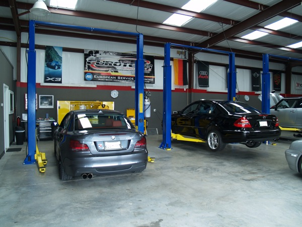 Land rover repair by eurotech knoxville in knoxville tn for European motor cars alpharetta